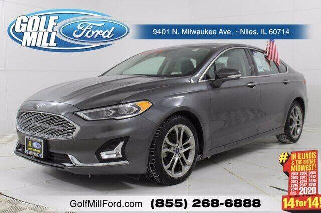 2020 Ford Fusion Hybrid for sale in Niles, IL