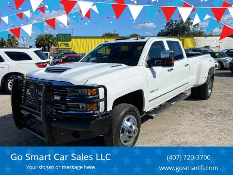 2017 Chevrolet Silverado 3500HD for sale at Go Smart Car Sales LLC in Winter Garden FL