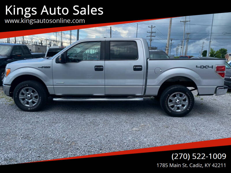 2012 Ford F-150 for sale at Kings Auto Sales in Cadiz KY
