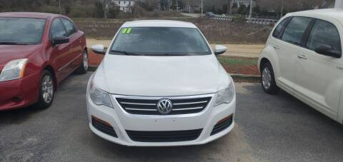 2011 Volkswagen CC for sale at Falmouth Auto Center in East Falmouth MA