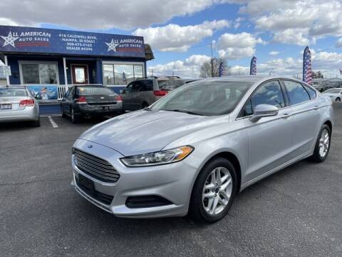 2014 Ford Fusion for sale at All American Auto Sales LLC in Nampa ID