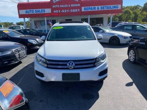2013 Volkswagen Tiguan for sale at Sandy Lane Auto Sales and Repair in Warwick RI