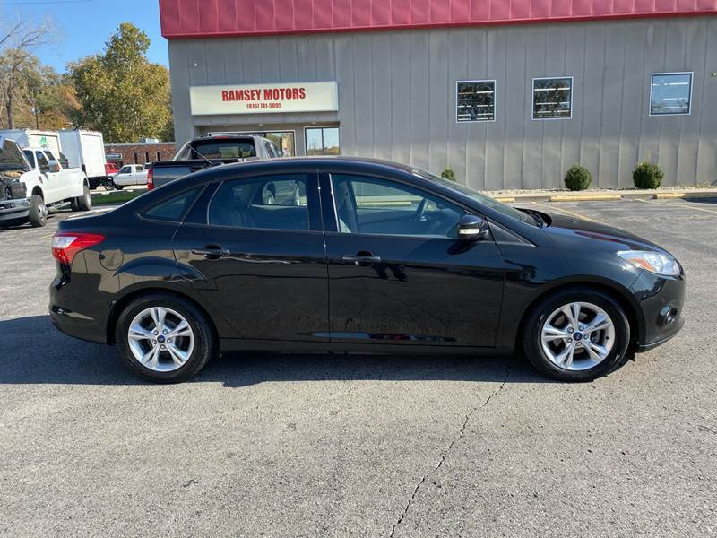 2014 Ford Focus for sale at Ramsey Motors in Riverside MO