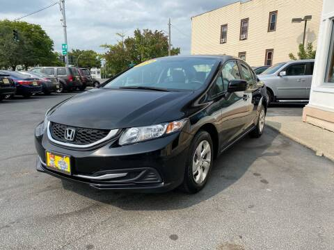 2014 Honda Civic for sale at ADAM AUTO AGENCY in Rensselaer NY