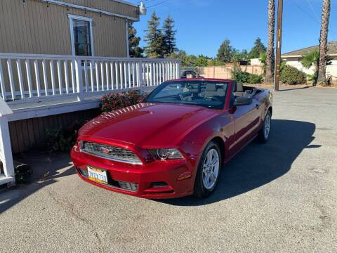 2014 Ford Mustang for sale at Contra Costa Auto Sales in Oakley CA