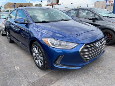 2017 Hyundai Elantra for sale at New Wave Auto Brokers & Sales in Denver CO