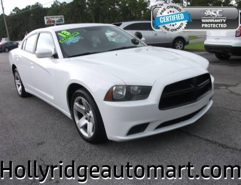 2013 Dodge Charger for sale at Holly Ridge Auto Mart in Holly Ridge NC