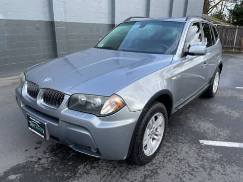 2006 BMW X3 for sale at APX Auto Brokers in Lynnwood WA