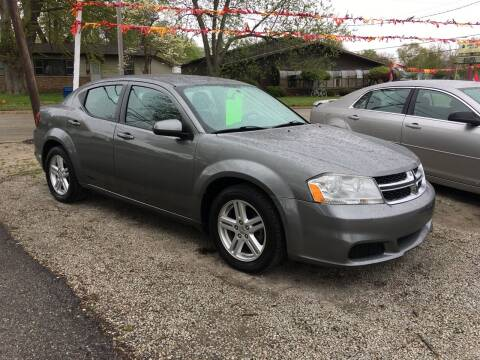 2012 Dodge Avenger for sale at Antique Motors in Plymouth IN