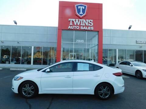2018 Hyundai Elantra for sale at Twins Auto Sales Inc Redford 1 in Redford MI
