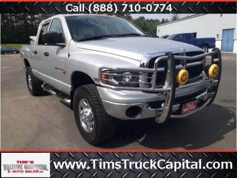 2004 Dodge Ram Pickup 2500 for sale at TTC AUTO OUTLET/TIM'S TRUCK CAPITAL & AUTO SALES INC ANNEX in Epsom NH