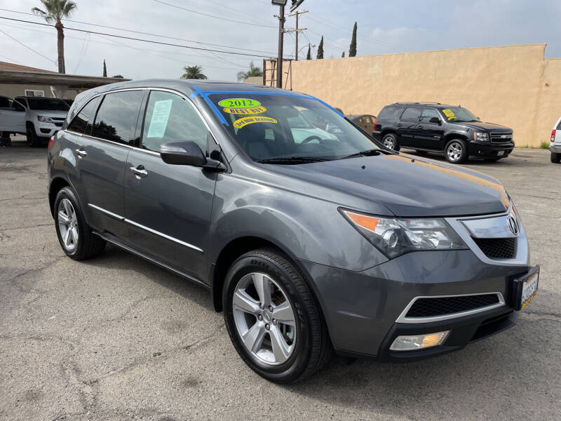 2012 Acura MDX for sale at JR'S AUTO SALES in Pacoima CA