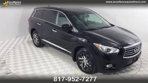 2013 Infiniti JX35 for sale at Excellence Auto Direct in Euless TX