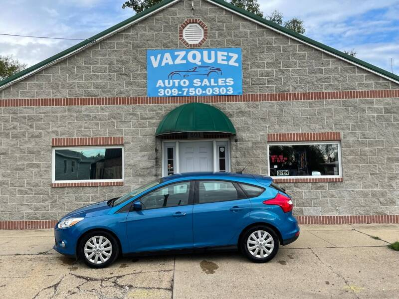 2012 Ford Focus for sale at VAZQUEZ AUTO SALES in Bloomington IL