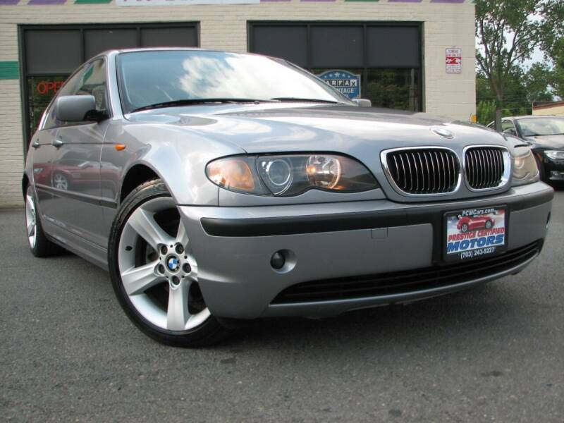 2003 BMW 3 Series for sale at Prestige Certified Motors in Falls Church VA