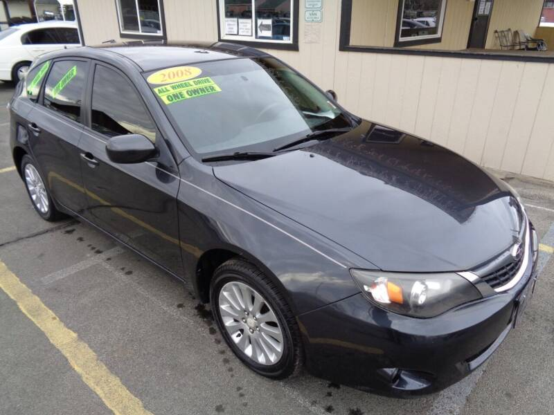 2008 Subaru Impreza for sale at BBL Auto Sales in Yakima WA