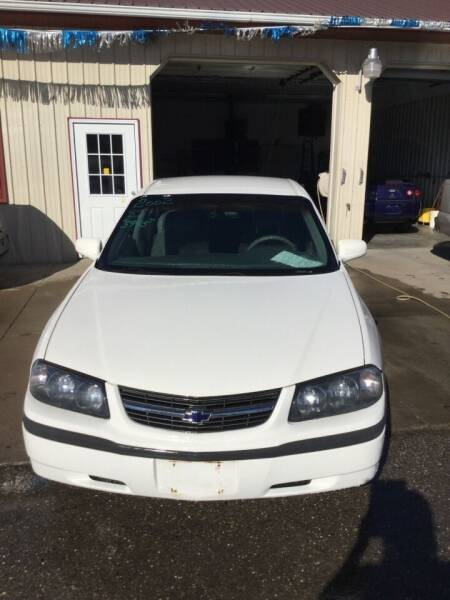 2002 Chevrolet Impala for sale at Stewart's Motor Sales in Cambridge/Byesville OH