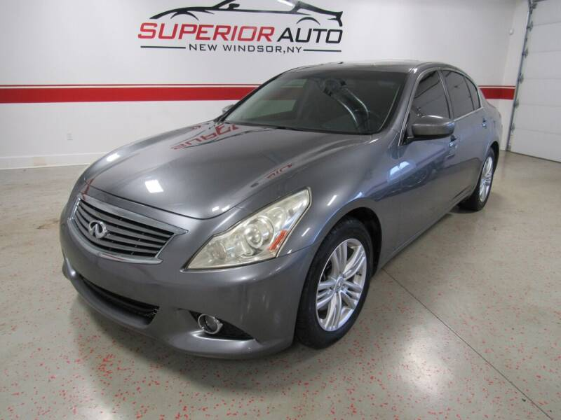 2013 Infiniti G37 Sedan for sale at Superior Auto Sales in New Windsor NY