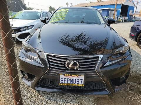 2016 Lexus IS 200t for sale at La Playita Auto Sales Tulare in Tulare CA