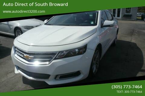 2016 Chevrolet Impala for sale at Auto Direct of South Broward in Miramar FL