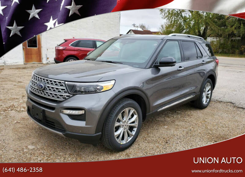 2021 Ford Explorer for sale at Union Auto in Union IA