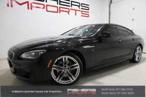 2015 BMW 6 Series for sale at Fishers Imports in Fishers IN