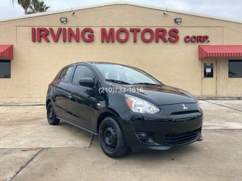 2015 Mitsubishi Mirage for sale at Irving Motors Corp in San Antonio TX