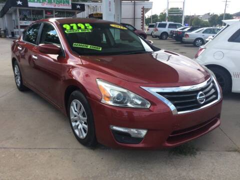 2013 Nissan Altima for sale at Harrison Family Motors in Topeka KS