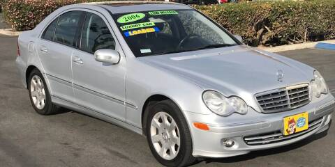 2006 Mercedes-Benz C-Class for sale at CARSTER in Huntington Beach CA
