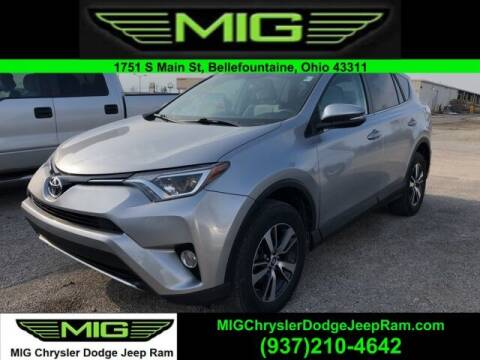 2016 Toyota RAV4 for sale at MIG Chrysler Dodge Jeep Ram in Bellefontaine OH