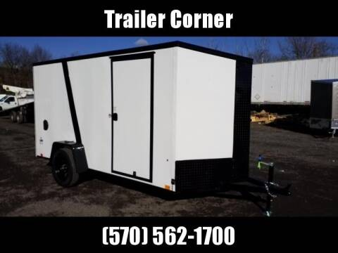 Look Trailers STLC 6X12 - BLACKED OUT