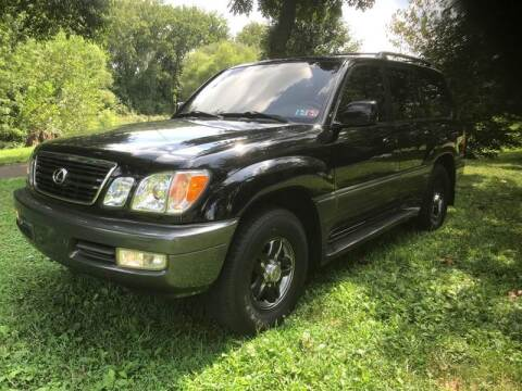 2001 Lexus LX 470 for sale at Michaels Used Cars Inc. in East Lansdowne PA
