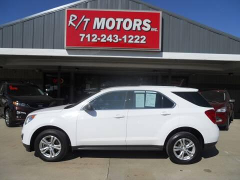2015 Chevrolet Equinox for sale at RT Motors Inc in Atlantic IA