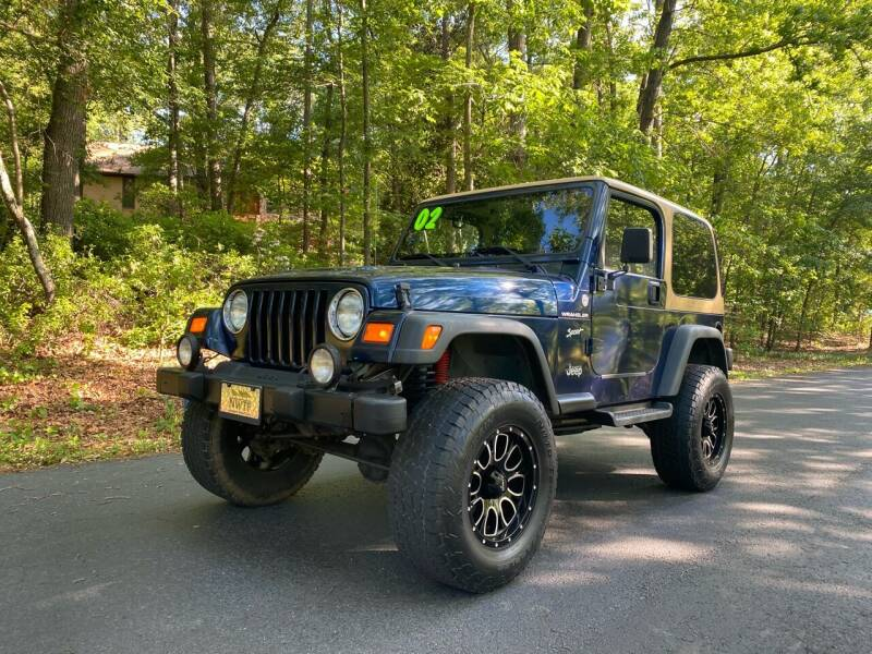 2002 Jeep Wrangler for sale at US 1 Auto Sales in Graniteville SC