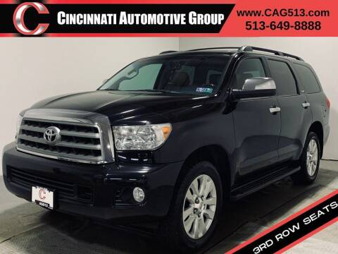 2013 Toyota Sequoia for sale at Cincinnati Automotive Group in Lebanon OH