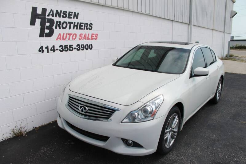 2015 Infiniti Q40 for sale at HANSEN BROTHERS AUTO SALES in Milwaukee WI