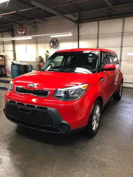 2015 Kia Soul for sale at Jimmys Auto Sales in North Providence RI