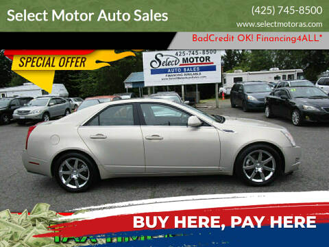 2008 Cadillac CTS for sale at Select Motor Auto Sales in Lynnwood WA