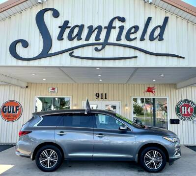 2019 Infiniti QX60 for sale at Stanfield Auto Sales in Greenfield IN