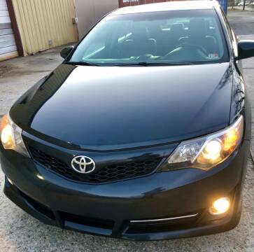 2013 Toyota Camry for sale at Richmond Auto Sales LLC in Richmond VA