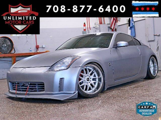 2003 Nissan 350Z for sale at Unlimited Motor Cars in Bridgeview IL