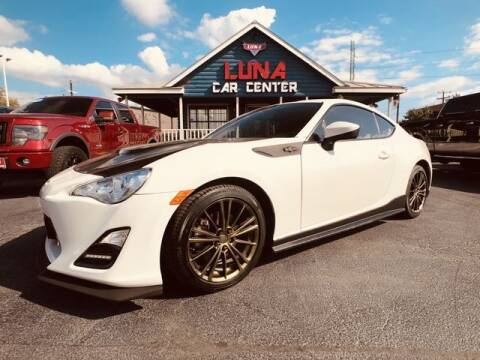 2015 Scion FR-S for sale at LUNA CAR CENTER in San Antonio TX