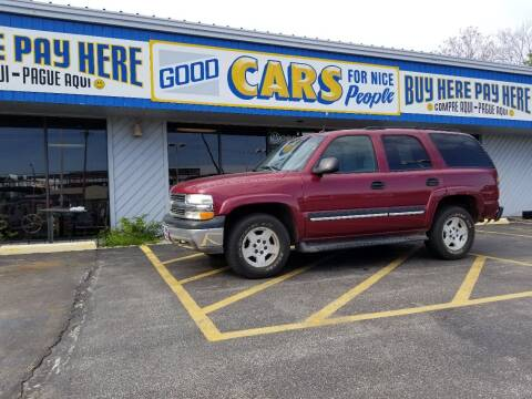 2004 Chevrolet Tahoe for sale at Good Cars 4 Nice People in Omaha NE
