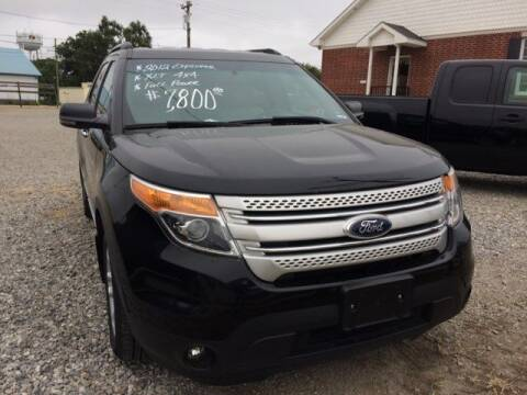2012 Ford Explorer for sale at VAN'S ENTERPRISES in Cameron MO