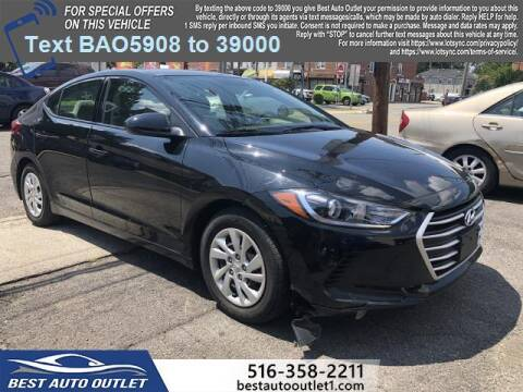 2018 Hyundai Elantra for sale at Best Auto Outlet in Floral Park NY