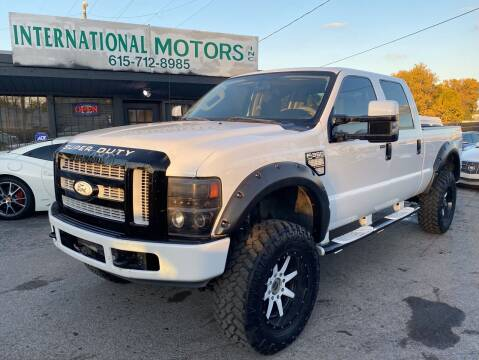 2008 Ford F-350 Super Duty for sale at International Motors Inc. in Nashville TN