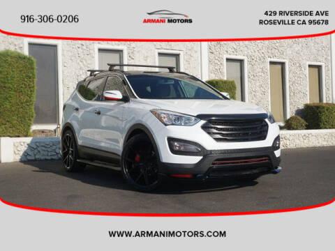 2015 Hyundai Santa Fe Sport for sale at Armani Motors in Roseville CA