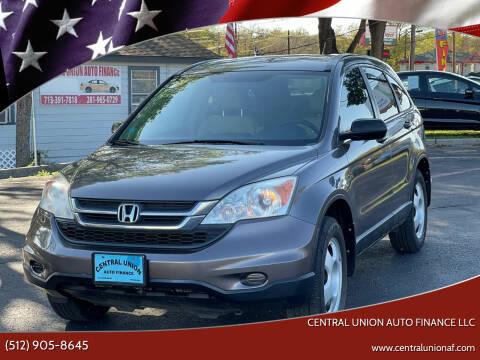 2011 Honda CR-V for sale at Central Union Auto Finance LLC in Austin TX