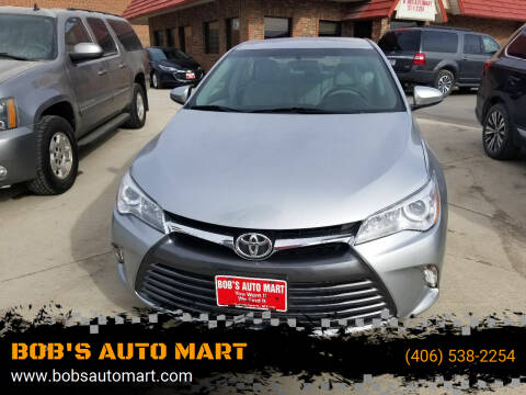 2017 Toyota Camry for sale at BOB'S AUTO MART in Lewistown MT