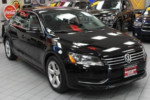 2012 Volkswagen Passat for sale at Windy City Motors in Chicago IL